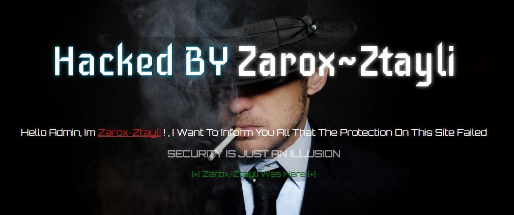 Hacked By Zarox~Ztayli